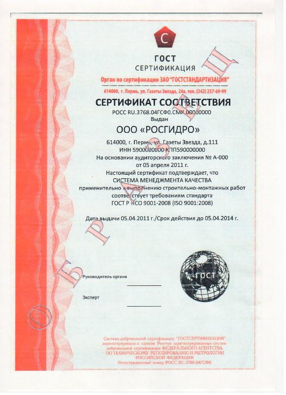 получить Гост ИСО 9001 2008 в Междуреченске